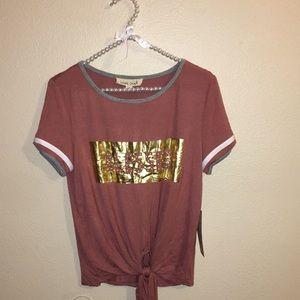 Tops - Band crush shirt